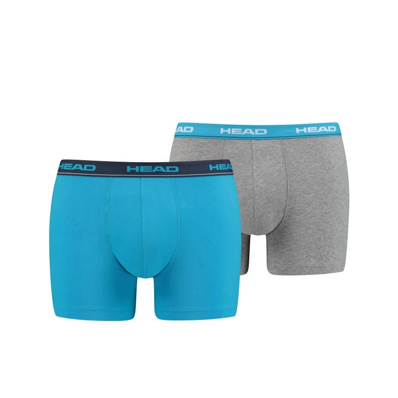HEAD Men's Boxer white/blue/grey, 891003001-240
