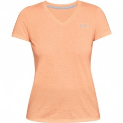 Under Armour Threadborne Train Short Sleeve Twist Orange, 1289650-906