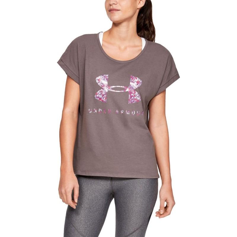 Under Armour Graphic Sportstyle Fashion Short Sleeve purple, 1347436-057
