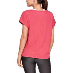 Under Armour Graphic Sportstyle Fashion Short Sleeve pink, 1347436-671