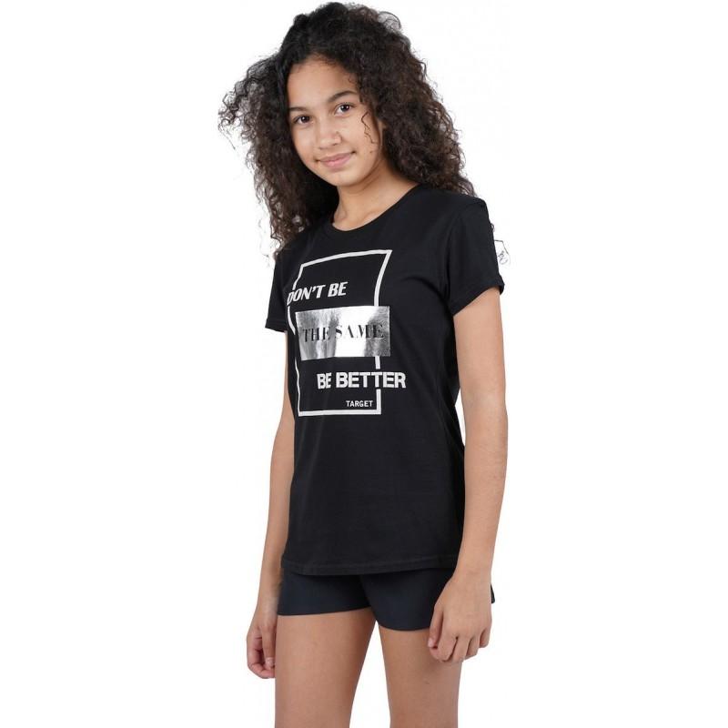 Target T-Shirt black, 65500-10