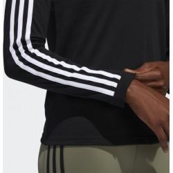 Γυναικεία Μπλούζα Adidas 3 Stripe Black, FJ7312