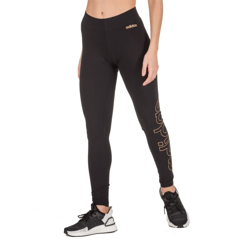 adidas Performance ESSENTIALS BRANDED TIGHTS Μαύρο, FL9194