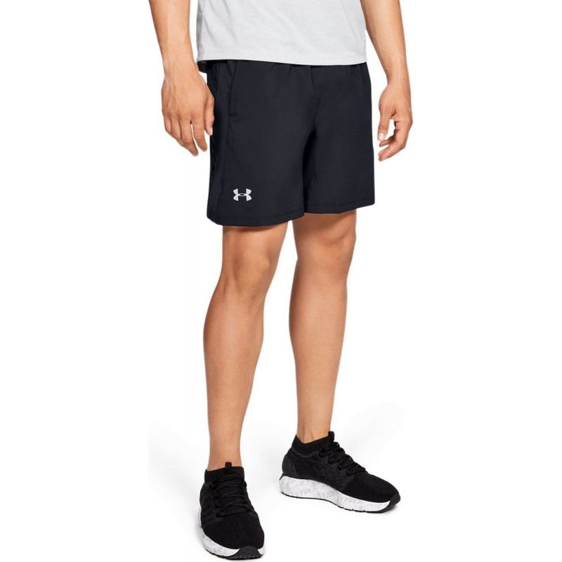 Under Armour Launch SW 2 In 1 Mens Running Shorts Black, 1326576-001