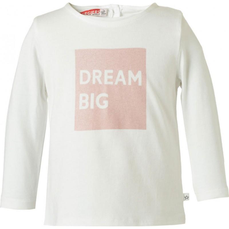 Παιδική μπλούζα εκρού DREAM BIG ENERGIERS, 15-119359-5