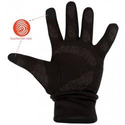 Γάντια μαύρα unisex για οθόνες touchscreen, 74OC-ZWA