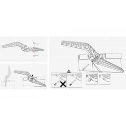 Sledge Plastic  Twister, 0298-KOB