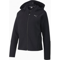 Evostripe Full-Zip Hood black