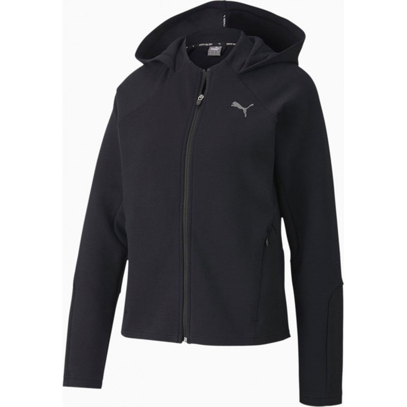 Evostripe Full-Zip Hood black, 583532-01