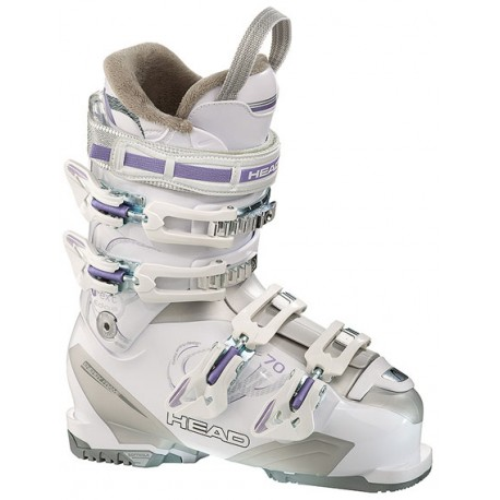 Women ski boots HEAD NEXT EDGE 70 White