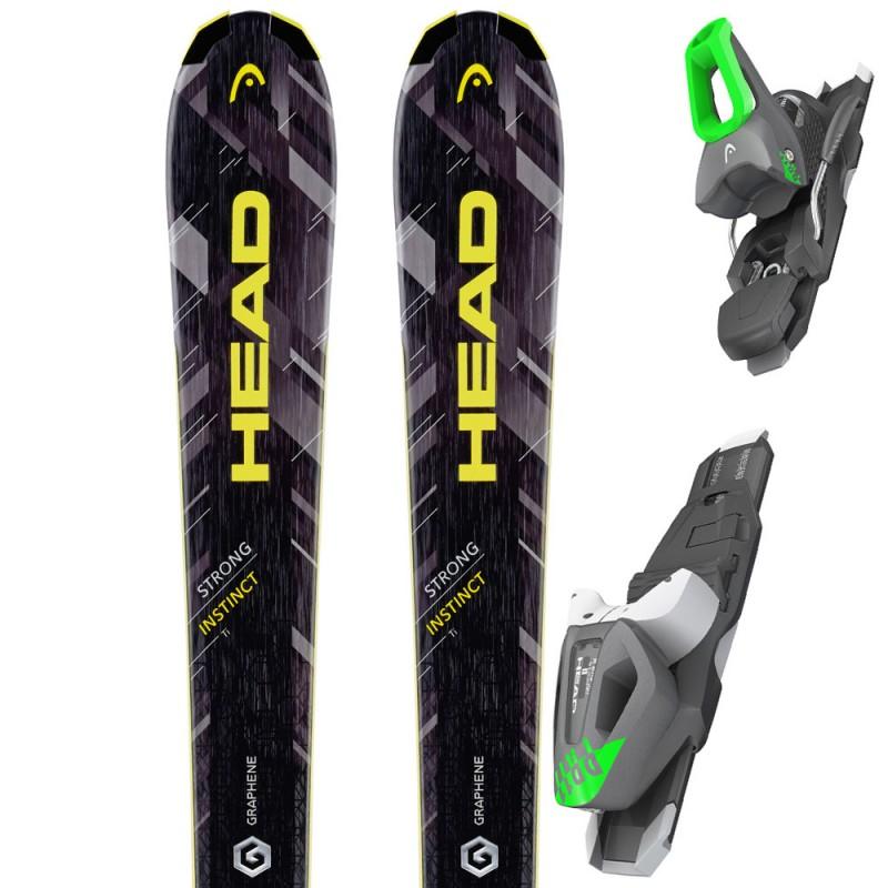 Ski STRONG Instict Ti with bindings HEAD PR 11, 310966