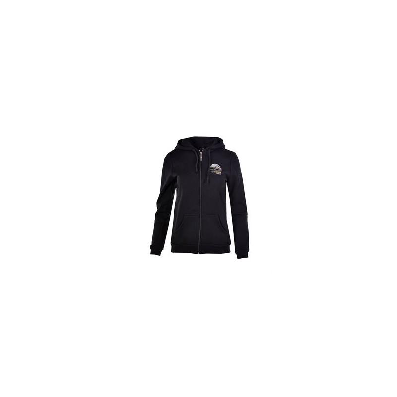 Γυναικεία Ζακέτα μαύρη με τύπωμα στην πλάτη Target, 66585-10