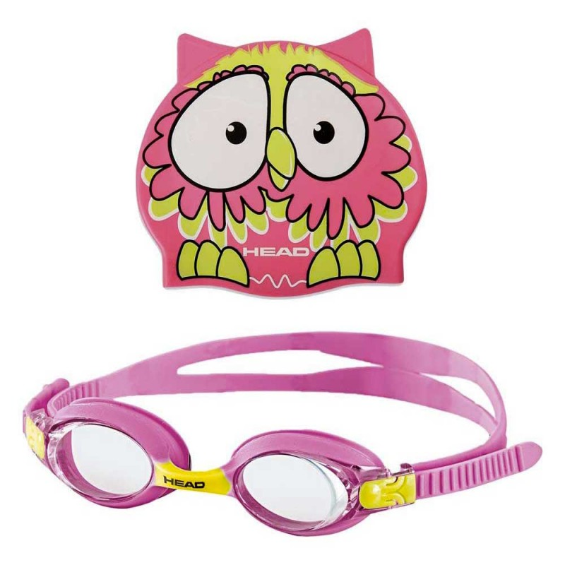Head Swimming Goggle Set Meteor Character pink, 451020-PK