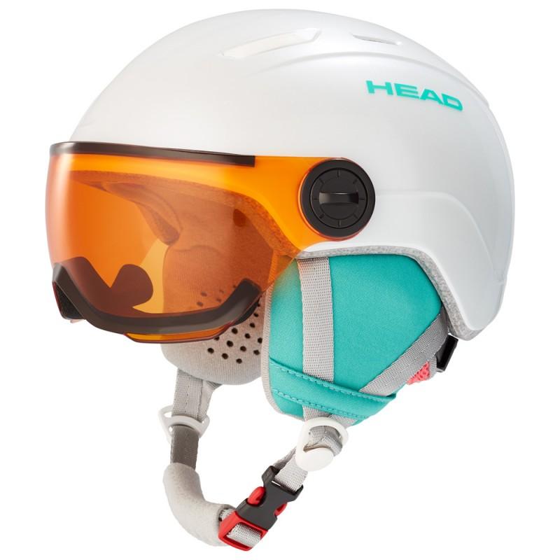 Παιδικά κράνη σκι | HEAD MAJA Visor pearl, 328169