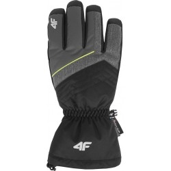 4f Gloves Ski grey