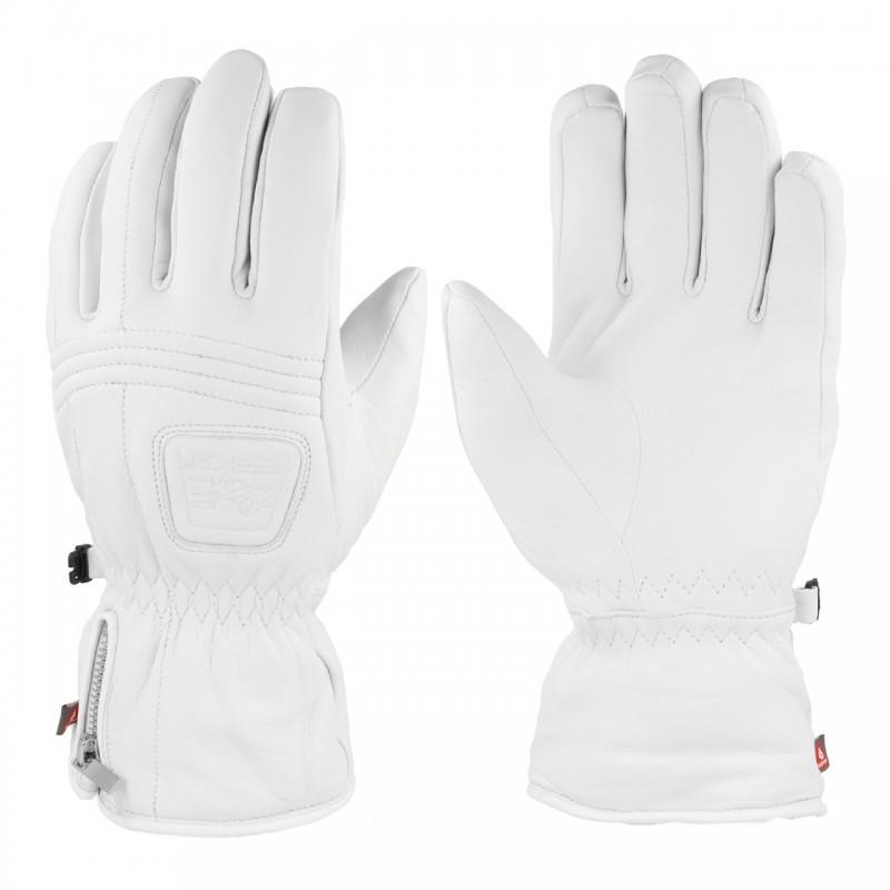 Leather Shield ESKA white, 1582OZ/C-014