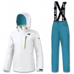 SKI SET WOMEN'S WHITE/BLUE...