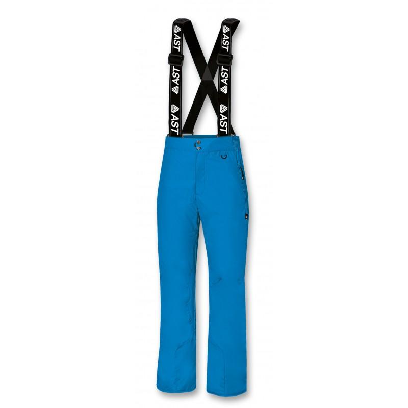 Men's Ski Trousers light blue Astrolabio, AD7P-886