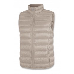DOWN VEST WOMEN'S BEIGE...