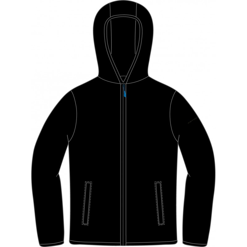 JACKET WITHOUT LINING BLACK ASTROLABIO, L19S-500