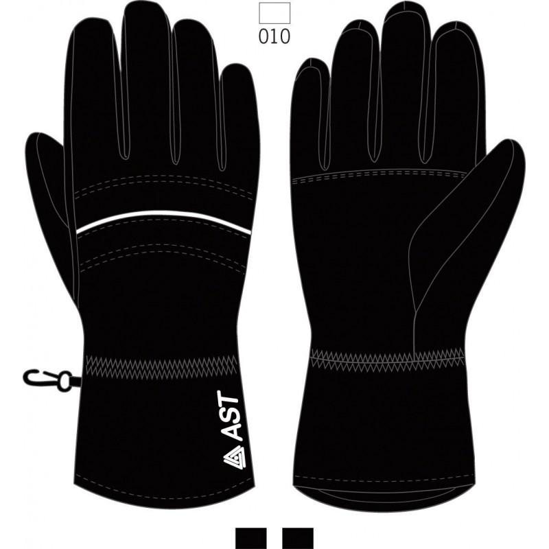 Γυναικεία Γάντια Σκι μαύρα Astrolabio, Z28Z-E61