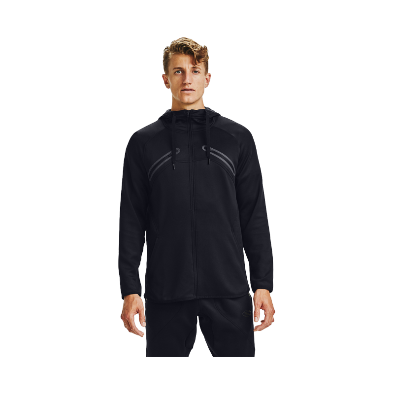 Under Armour MEN'S CURRY STEALTH JACKET BLACK, 1356996-001