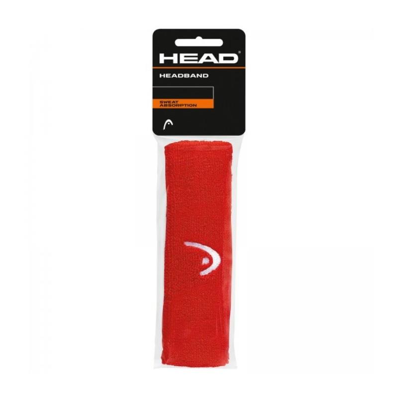 HEAD HEADBAND SWEAT ABSORPTION RED, 285080-RD