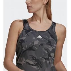 Adidas AEROREADY Designed 2 Move Camouflage-Print Grey Six/White, GL3779