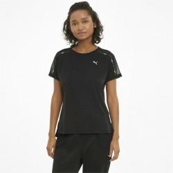 Puma Train Logo Boyfriend Tee black, 520286-01