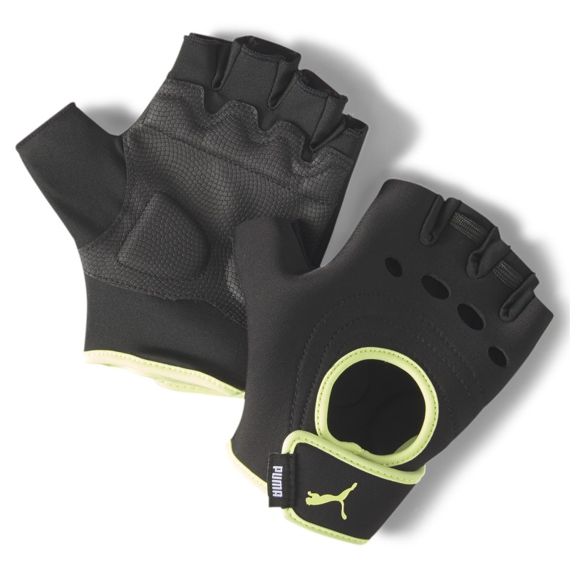 Puma Woman's AT shift gloves fluo yellow, 041614-03