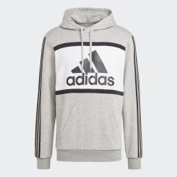 Adidas Men's Hooded Sweat grey