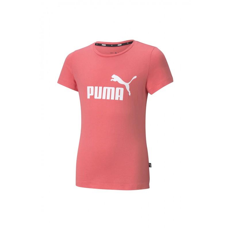 Puma Ess Logo Tee coral, 587029-42