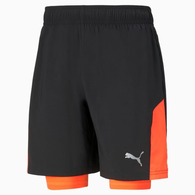 "Run Favourite Woven 2-in-1 7"" Men's Running Shorts, 520217-51"