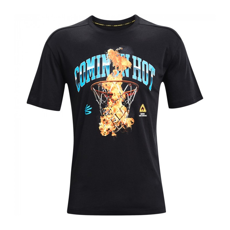 UNDER ARMOUR RRY COMING IN HOT TEE T-SHIRT K/M, 1362006-001
