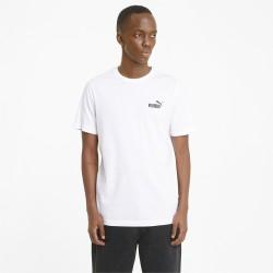 Puma Ess Small Logo Tee white