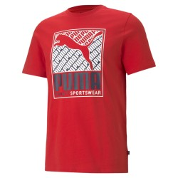Puma Men's Cat Box Tee high...