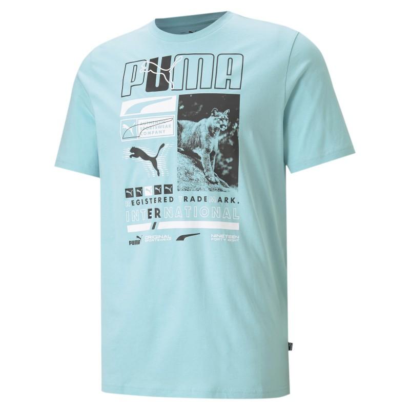 Puma Box Tee angel blue, 587765-49
