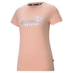 Puma Ess+ Metallic Logo Tee...