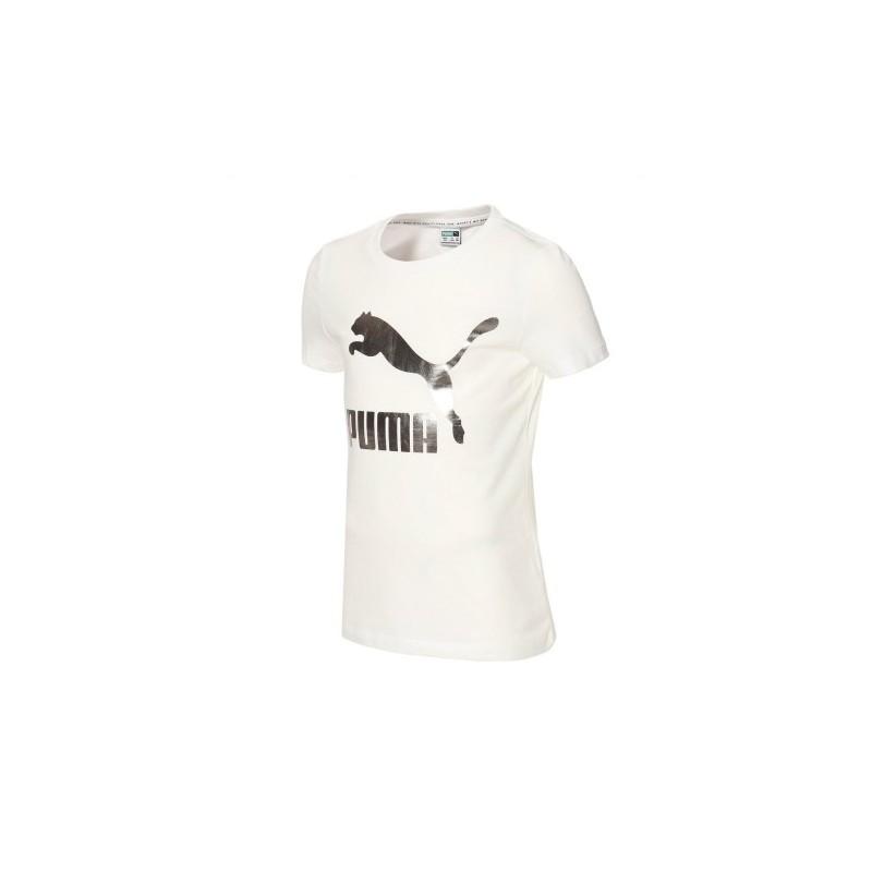 Puma Classics Logo Tee white, 530208-02