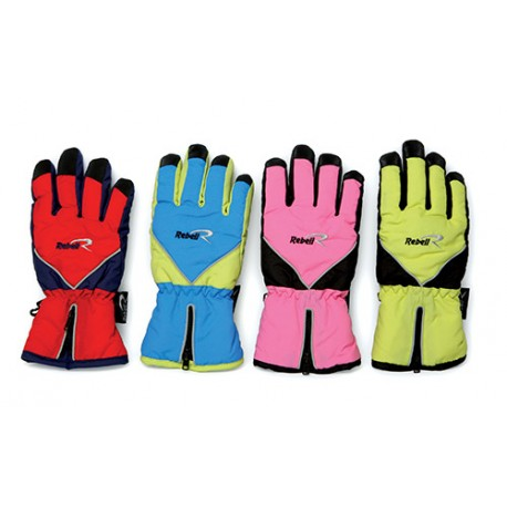 Junior gloves REBELL 7056