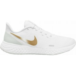Nike Revolution 5 white/gold