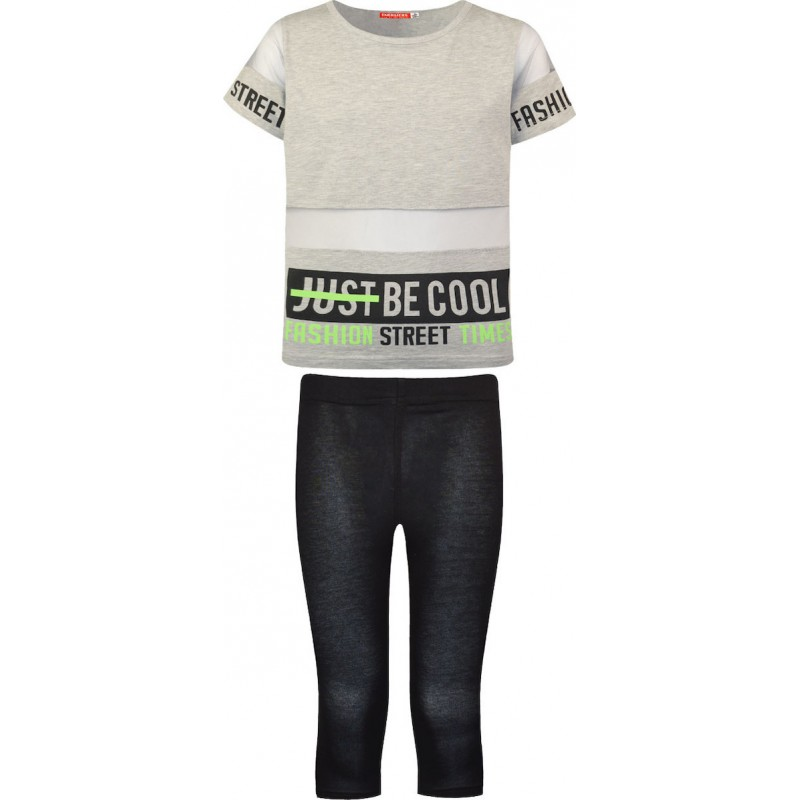 Energiers Σετ Μπλούζα με Κολάν Be Cool 16-221239-0 Γκρι 2τμχ, 16-221239-0-9