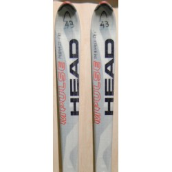 Used ski HEAD C 220i  with bindings HEAD