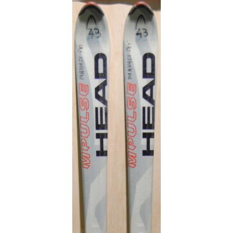 Used ski HEAD C 220i  with bindings HEAD