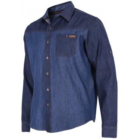 Ανδρικό πουκάμισο denim 4F