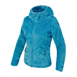 Women peluche hooded BREKKA