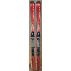 Used ski HEAD C 200 with bindings HEAD