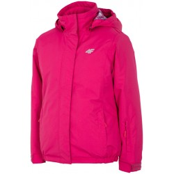 Junior ski Jacket 4f fuchsia