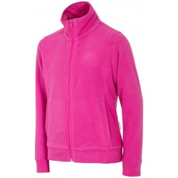 GIRLS' FLEECE 4F  FUCHSIA