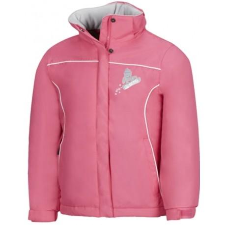 Παιδικό μπουφάν BERG ροζ